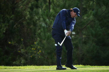 Phil Mickelson AT&T Pebble Beach Pro-Am - Round One
