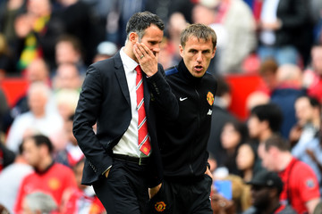 Phil Neville Manchester United v Sunderland - Premier League