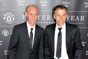 Phil Neville Manchester United Player of the Year Awards