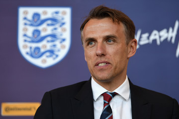 Phil Neville England Women Press Conference