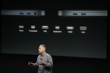 Phil Schiller Apple Holds Event to Announce New Products