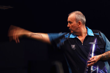 Phil Taylor Betway Premier League Darts - Rotterdam