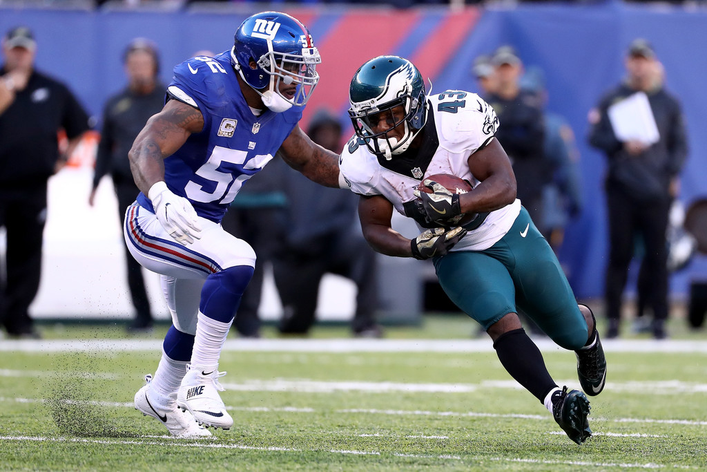 The Philadelphia Eagles And New York Giants Unveil Latest