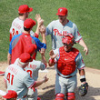 Cole Hamels and Roy Halladay Photos