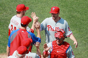 Cole Hamels and Roy Halladay Photos Photo