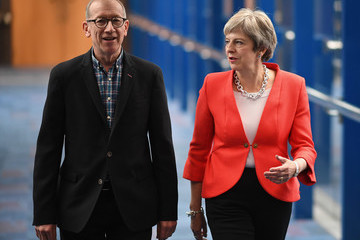 Philip May Conservative Party Conference - Day One