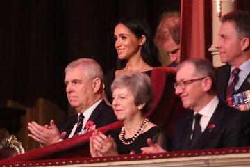 Philip May The Royal Family Attend The Festival Of Remembrance
