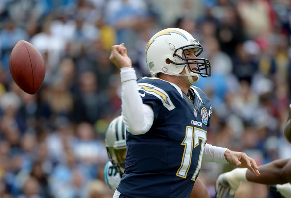 Philip Rivers - Carolina Panthers v San Diego Chargers