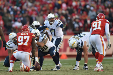 Philip Rivers San Diego Chargers v Kansas City Chiefs