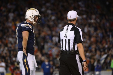 Philip Rivers Chicago Bears v San Diego Chargers