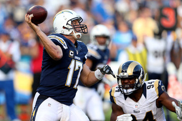 Philip Rivers St Louis Rams v San Diego Chargers
