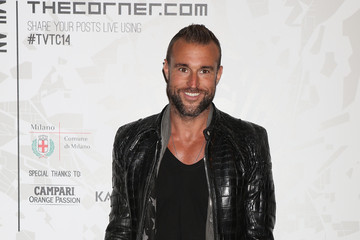 Philipp Plein Arrivals at the Vogue Talents Corner