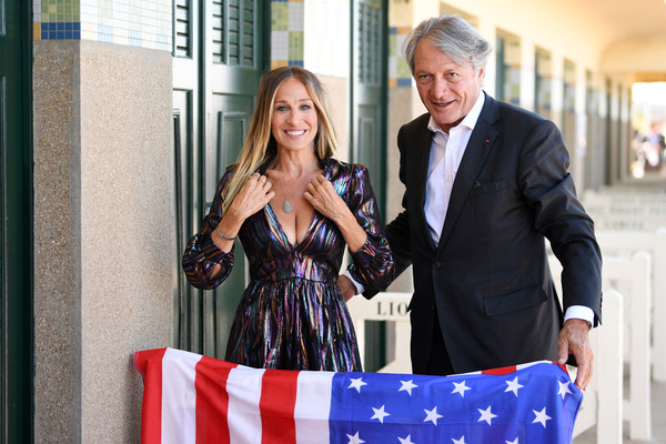 Sarah Jessica Parker Receives Deauville Talent Award: Photocall - 44th Deauville American Film Festival