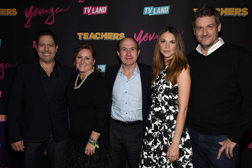 Philippe Dauman Cyma Zarghami 'Younger' Season 2 and 'Teachers' Series Premiere