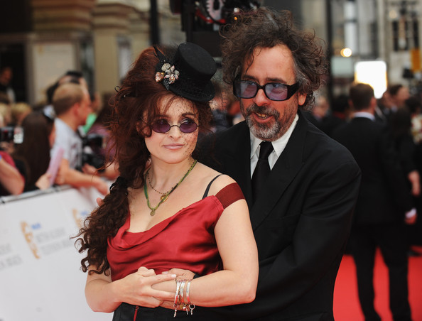 Helena Bonham Carter Director Tim Burton and his wife Helena Bonham Carter arrive for the Philips British Academy Television Awards at the London Palladium on June 6, 2010 in London, England.