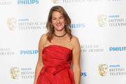 (UK TABLOID NEWSPAPERS OUT) Tracy Emin poses in front of the winners boards at The Phillips British Academy Awards 2011 at The Grosvenor House Hotel on May 22, 2011 in London, England.