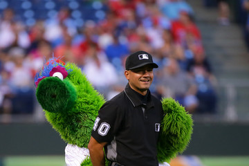 Phillie Phanatic New York Mets v Philadelphia Phillies