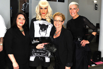 Phillipe Blond CND For The Blonds: New York Fashion Week Fall/Winter 2014 - Front Row/Backstage