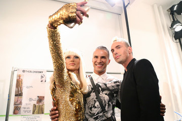 Phillipe Blond The Blonds - Backstage - Spring 2016 MADE Fashion Week