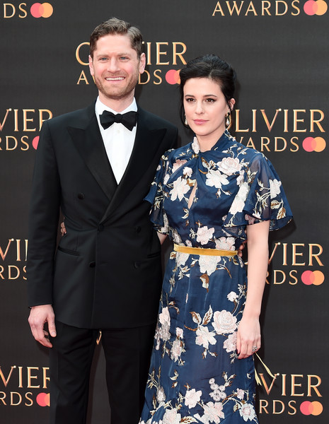 The Olivier Awards 2019 With MasterCard - Red Carpet Arrivals [carpet,premiere,suit,red carpet,formal wear,fashion,event,dress,flooring,tuxedo,red carpet arrivals,phoebe fox,kyle soller,olivier awards,england,london,royal albert hall,mastercard,the olivier awards]