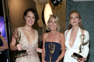 Phoebe Waller-Bridge Jodie Comer IMDb LIVE After The Emmys Presented By CBS All Access