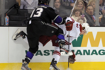 Cal O'Reilly Phoenix Coyotes v Los Angeles Kings