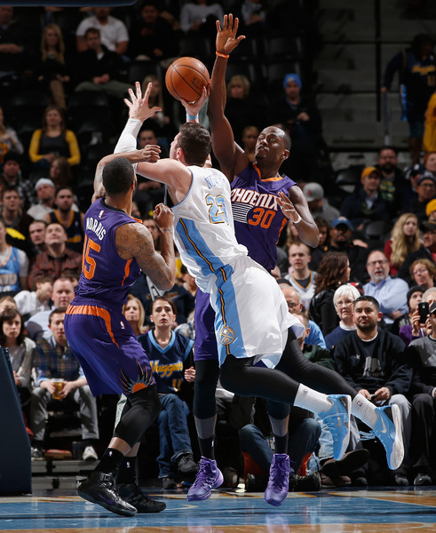 Nuggets Zimbo: Jusuf Nurkic In Phoenix Suns V Denver Nuggets