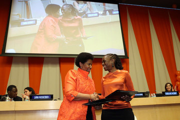 Phumzile Mlambo-Ngcuka United Nations Official Commemoration Event
