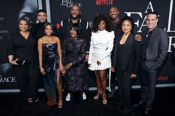 Phylicia Rashad Bresha Webb Netflix Premiere Tyler Perry's 'A Fall From Grace'