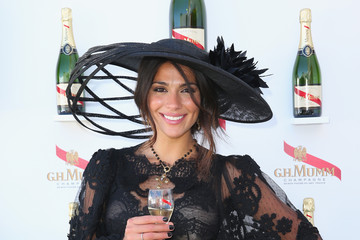 Pia Miller Celebrities Attend Victoria Derby Day