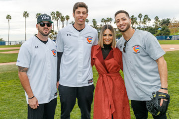 Pia Toscano Celebrities Attend Charity Softball Game To Benefit California Strong