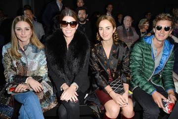 Pierre Casiraghi Front Row at Moncler Gamme Rouge