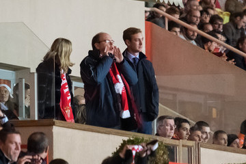 Pierre Casiraghi AS Monaco v Valenciennes In Monaco