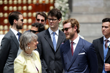 Pierre Casiraghi Wedding Of Prince Christian Of Hanover And Alessandra de Osma In Lima