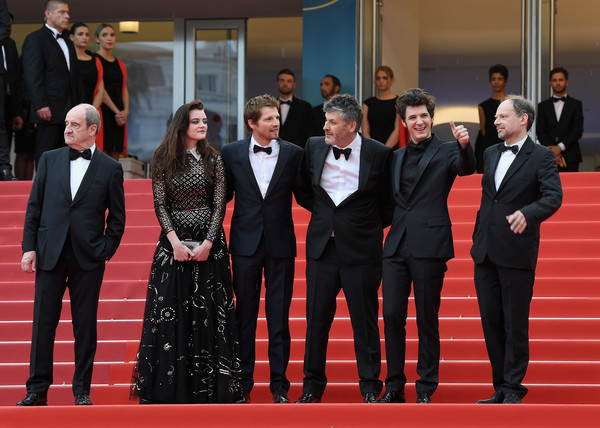 'Sorry Angel (Plaire, Aimer Et Courir Vite)' Red Carpet Arrivals - The 71st Annual Cannes Film Festival [aimer et courir vite during the 71st annual cannes film festival,event,red,red carpet,carpet,suit,formal wear,premiere,tuxedo,flooring,ceremony,red carpet arrivals - the 71st annual cannes film festival,sorry angel,plaire,aimer et courir vite,actor,screening,cannes,palais des festivals,france]