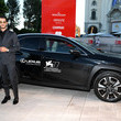 Pierre Niney Lexus at The 77th Venice Film Festival - Day 2