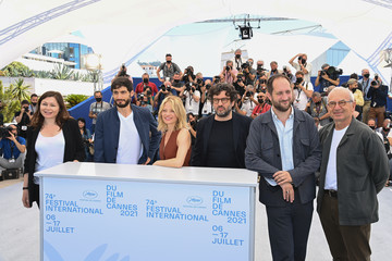 Pierre-Simon Gutman Romain Cogitor Camera D'Or Jury Photocall - The 74th Annual Cannes Film Festival
