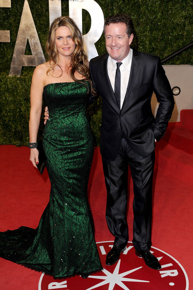 Piers Morgan with cool, beautiful, Wife Celia Walden