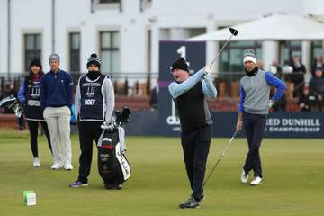 Piers Morgan Alfred Dunhill Links Championship - Day Three