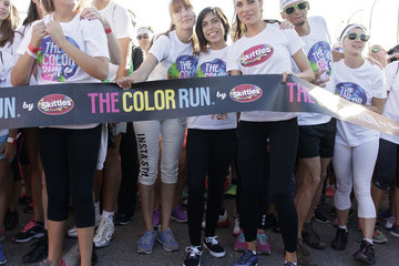 Pilar Rubio Pilar Rubio Is Ambassador of Skittles at The Color Run
