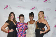 Giuliana Rancic, Marisa Renee Lee, Liana Douillet Guzman and Jackie Scharnick attend The Pink Agenda 7th Annual Gala at IAC Building on October 2, 2014 in New York City.