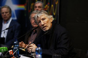 Roger Waters attends 'The Pink Floyd Exhibition: Their Mortal Remains' exhibition press conference at MACRO on January 16, 2018 in Rome, Italy.