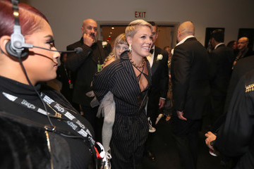Pink 60th Annual GRAMMY Awards - Backstage