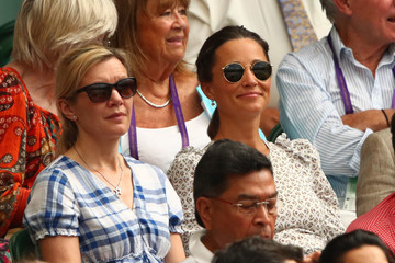 Pippa Middleton Day Eleven: The Championships - Wimbledon 2018