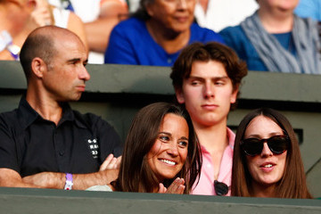 Pippa Middleton Day Seven: The Championships - Wimbledon 2015