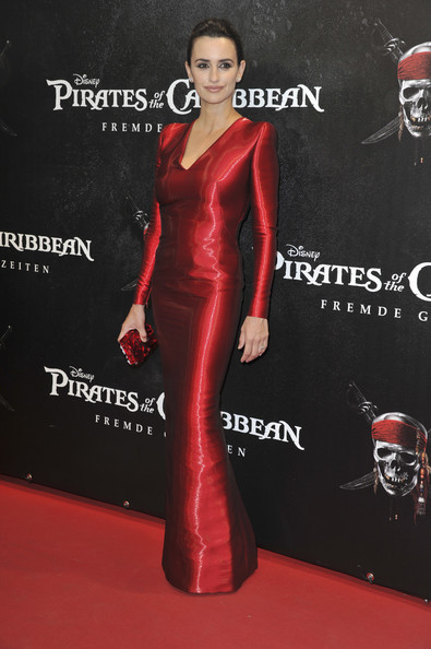"Actress Penelope Cruz attends the Germany Premiere of ""Pirates Of The Caribbean: On Stranger Tides"" at the Mathaeser Filmpalast on May 16, 2011 in Munich, Germany."