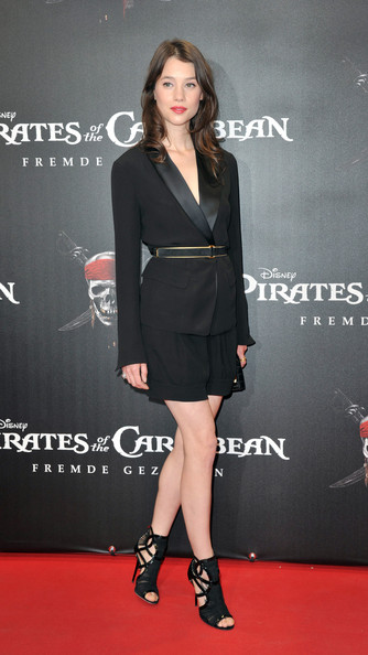 "French actress Astrid-Berges Frisbey poses during the Germany Premiere of ""Pirates Of The Caribbean: On Stranger Tides"" at the Mathaeser Filmpalast on May 16, 2011 in Munich, Germany."