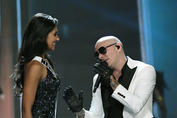 Pitbull 2017 Miss USA Competition