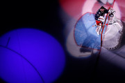 Sergei Bobrovsky #72 of the Columbus Blue Jackets is spot lit prior to being introduced to the crowd before the start of Game Four of the Eastern Conference First Round during the 2017 NHL Stanley Cup Playoffs against the Pittsburgh Penguins on April 18, 2017 at Nationwide Arena in Columbus, Ohio. Columbus defeated Pittsburgh 5-4.