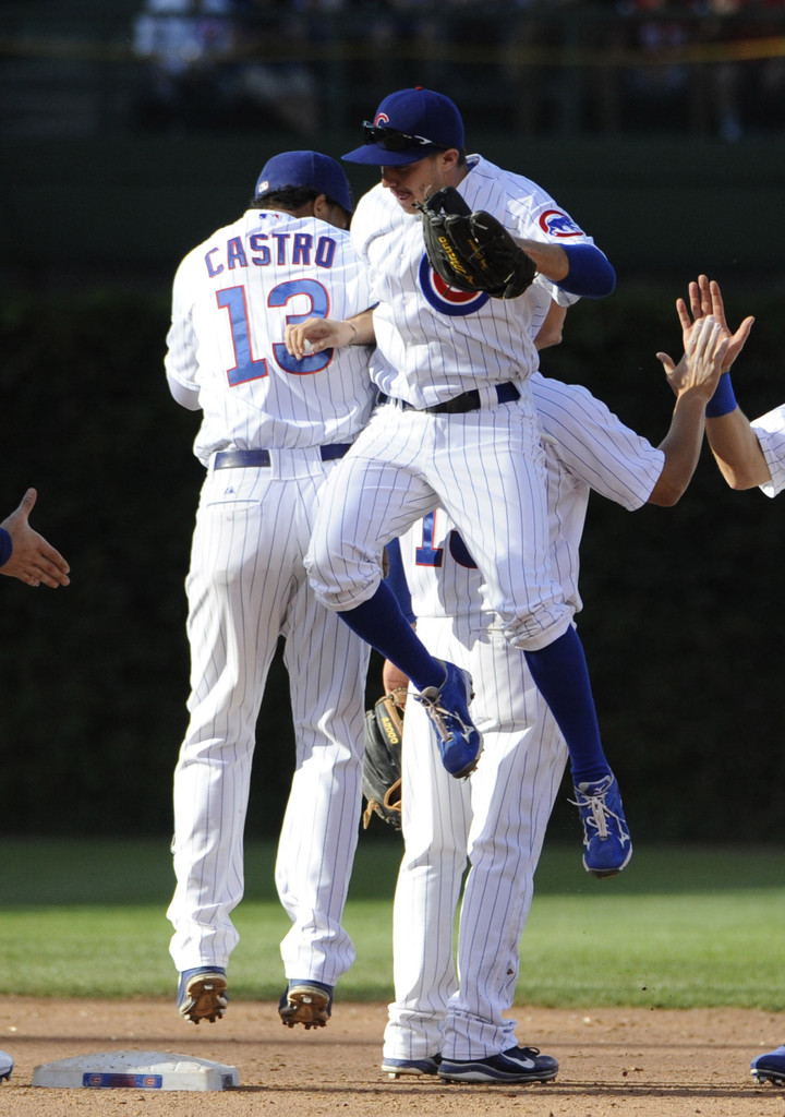 6a9ebec77 Starlin Castro and Tony Campana Photos»Photostream · Pictures · Pittsburgh  Pirates v Chicago Cubs